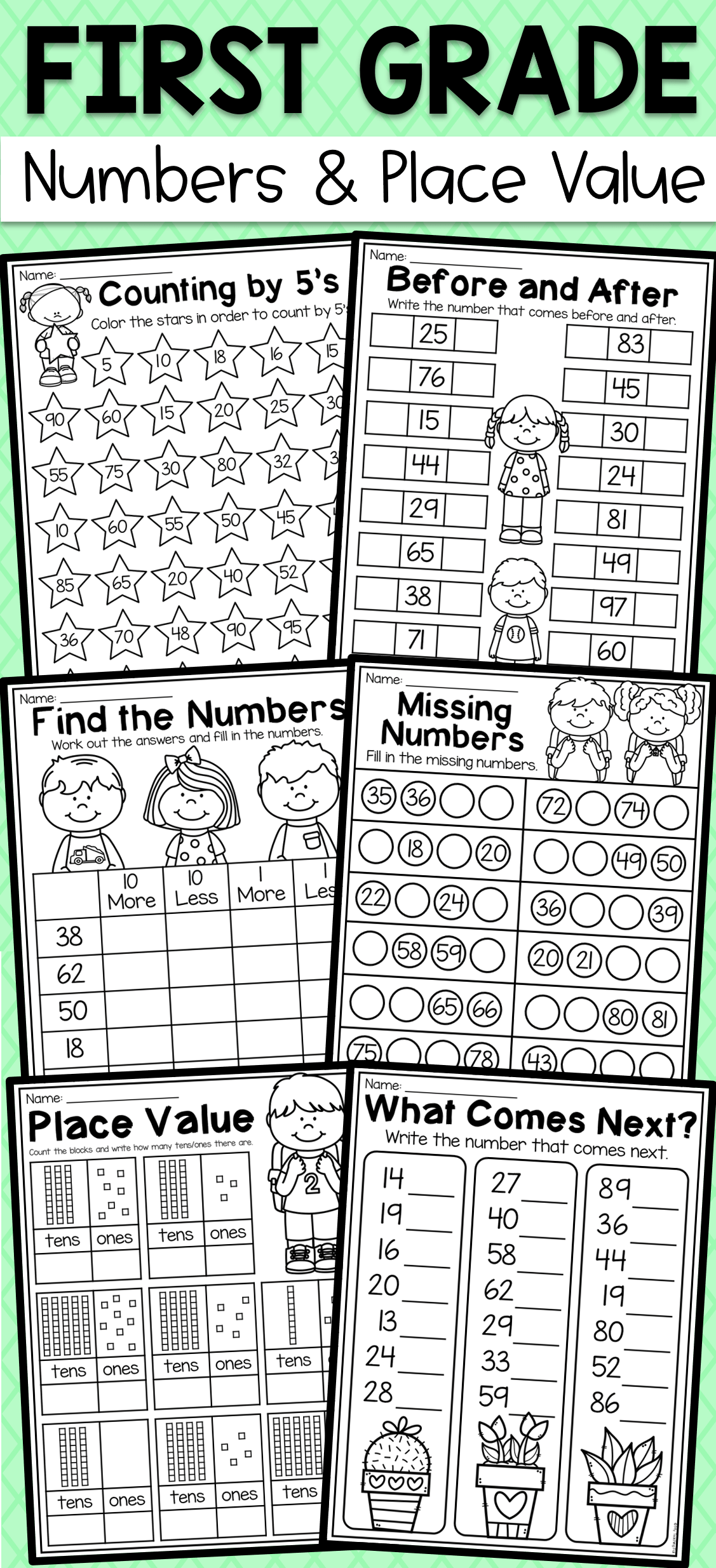 15 Best Worksheets Counting By Tens Images On Best
