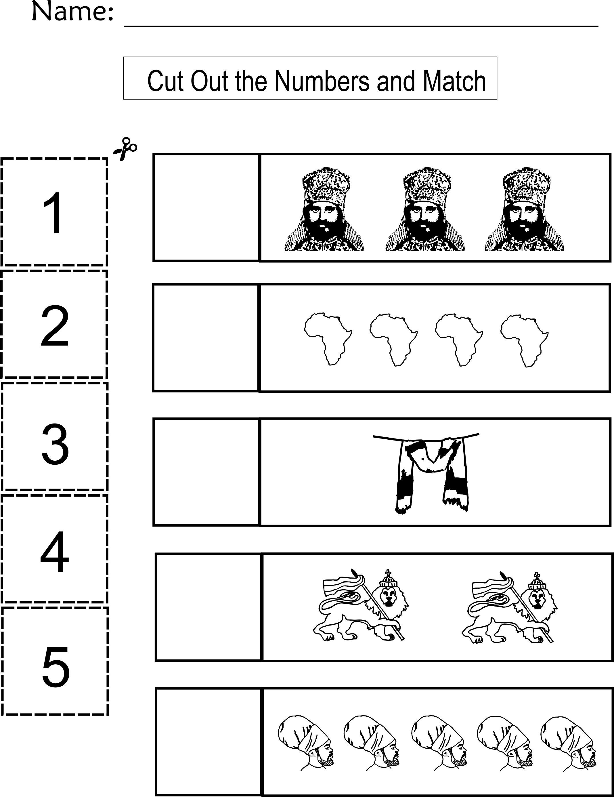 8 Best Color Cut And Paste Worksheets Images On Best