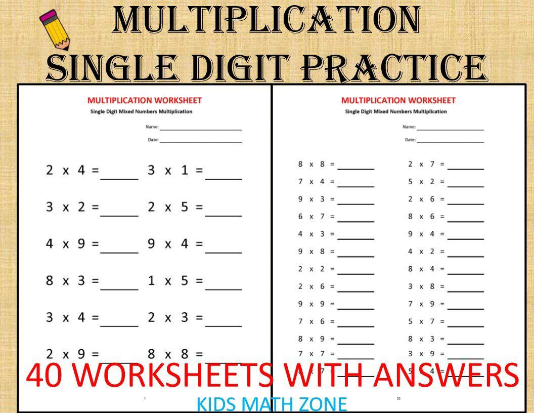 13 Best Multiplying Mixed Numbers Worksheets Images On