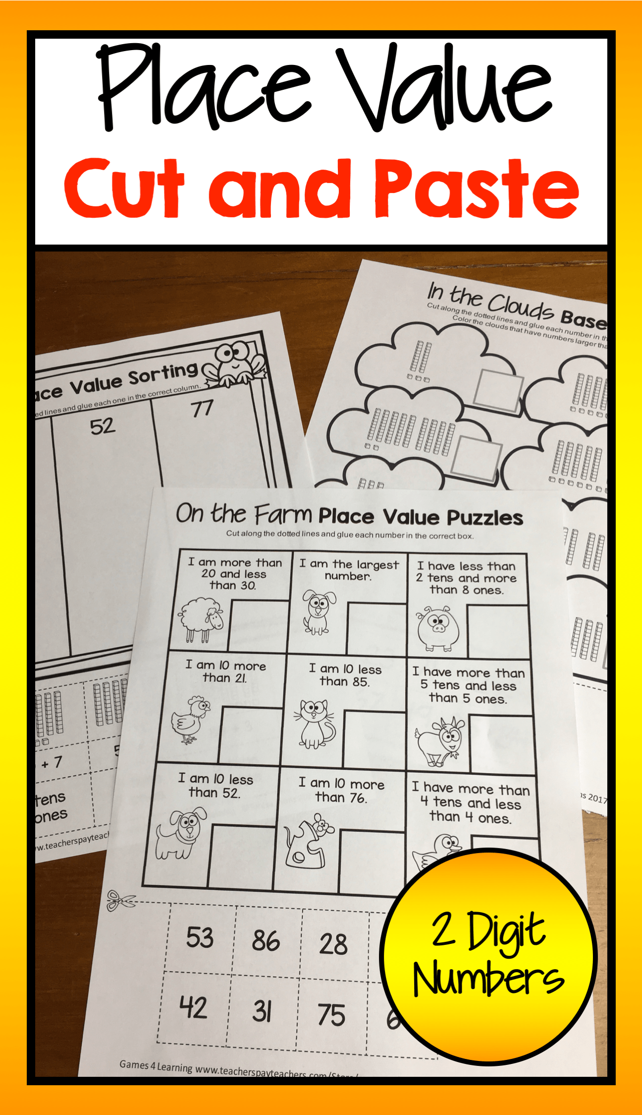 14 Best Printable Place Value Worksheets 4th Grade Images