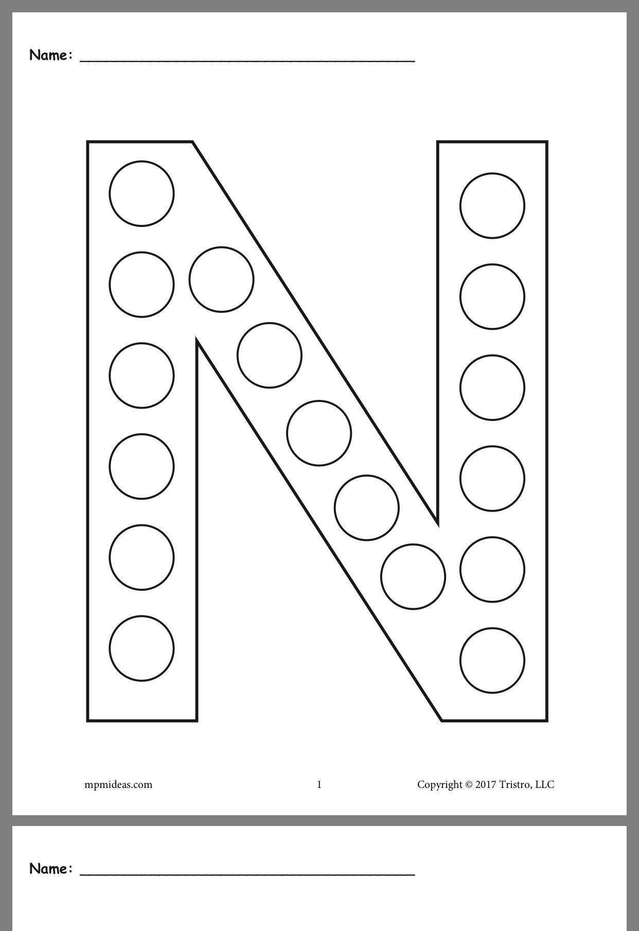 21 Best Alphabet Preschool Worksheets Images On Best