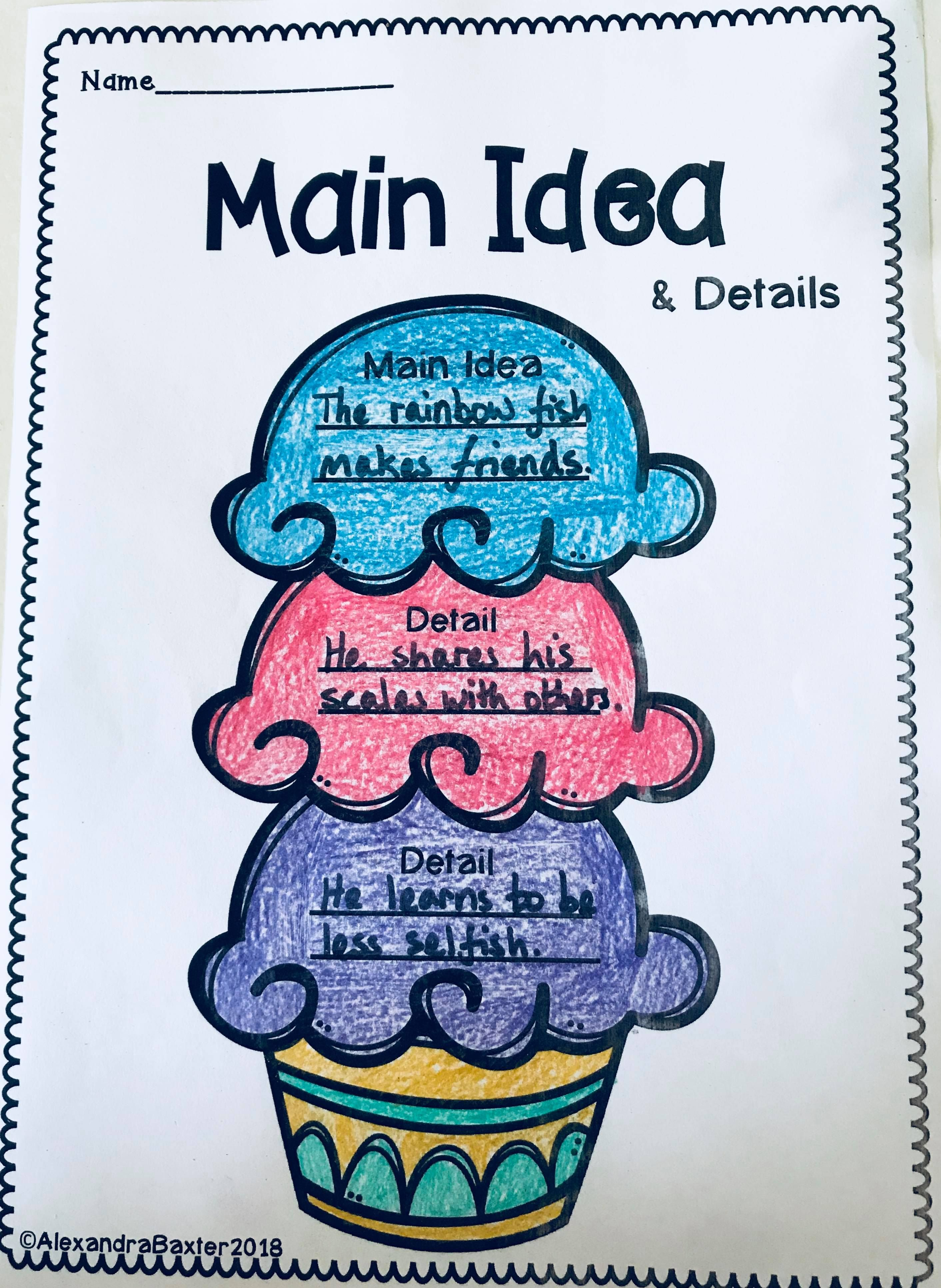 10 Best Fun Main Idea Worksheets Images On Best Worksheets