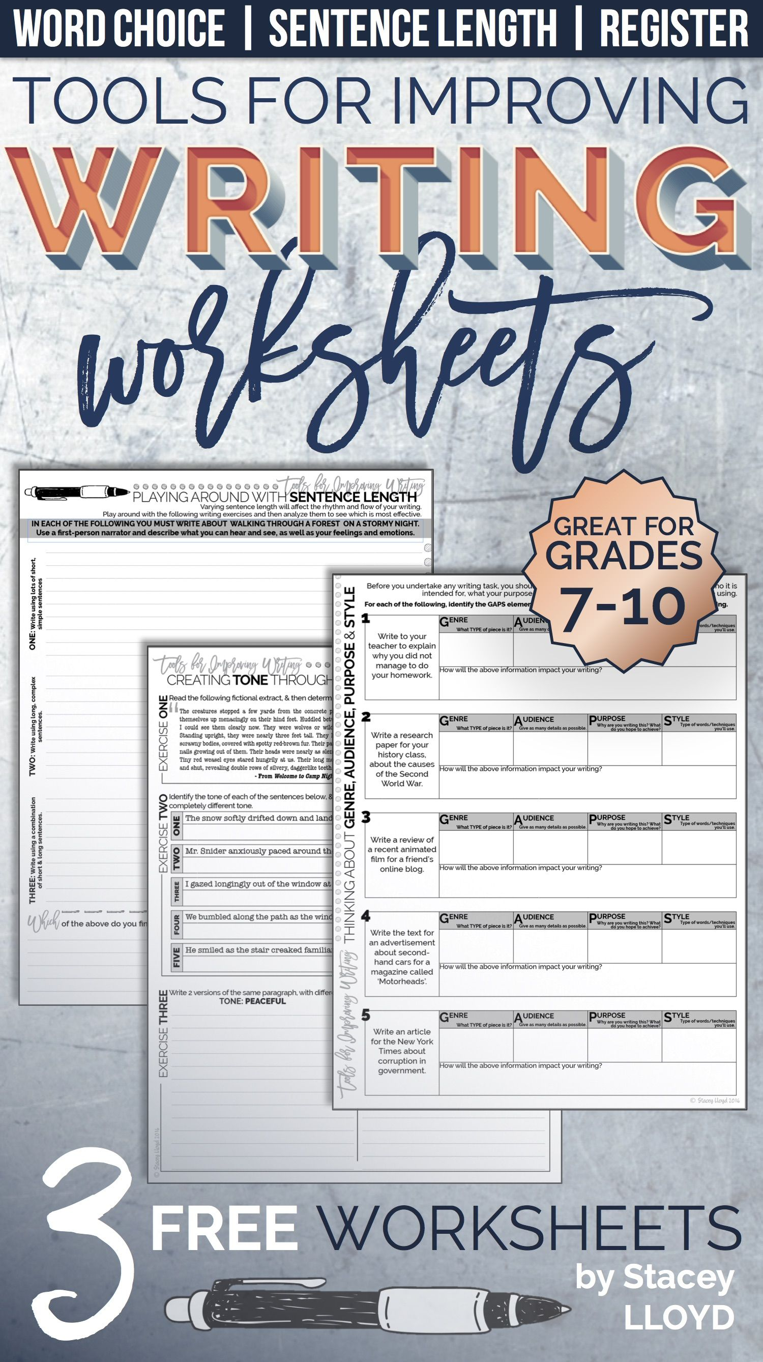 9 Best 7th Grade Language Worksheets Images On Best