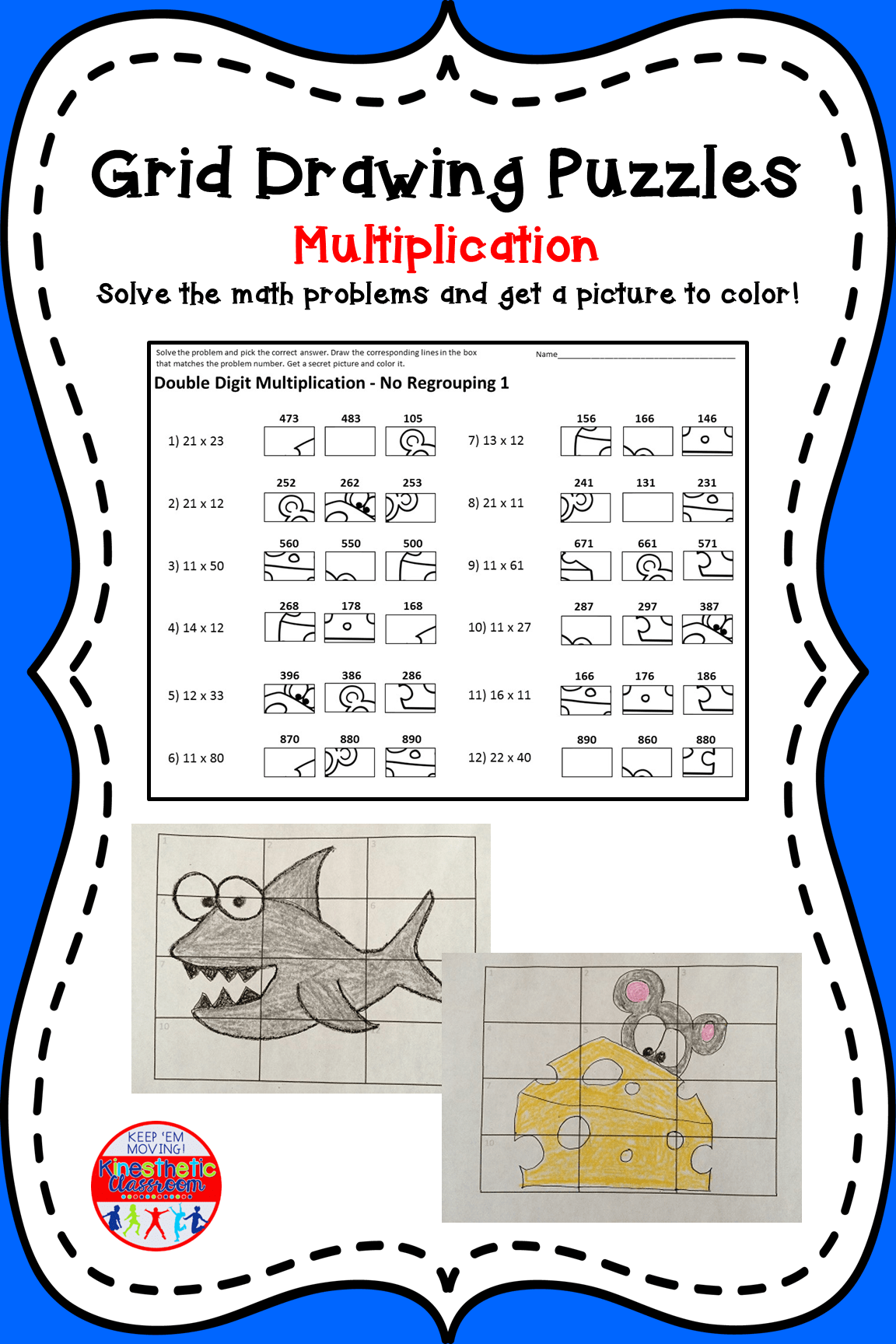 16 Best Printable Multiplication Worksheets 6th Grade