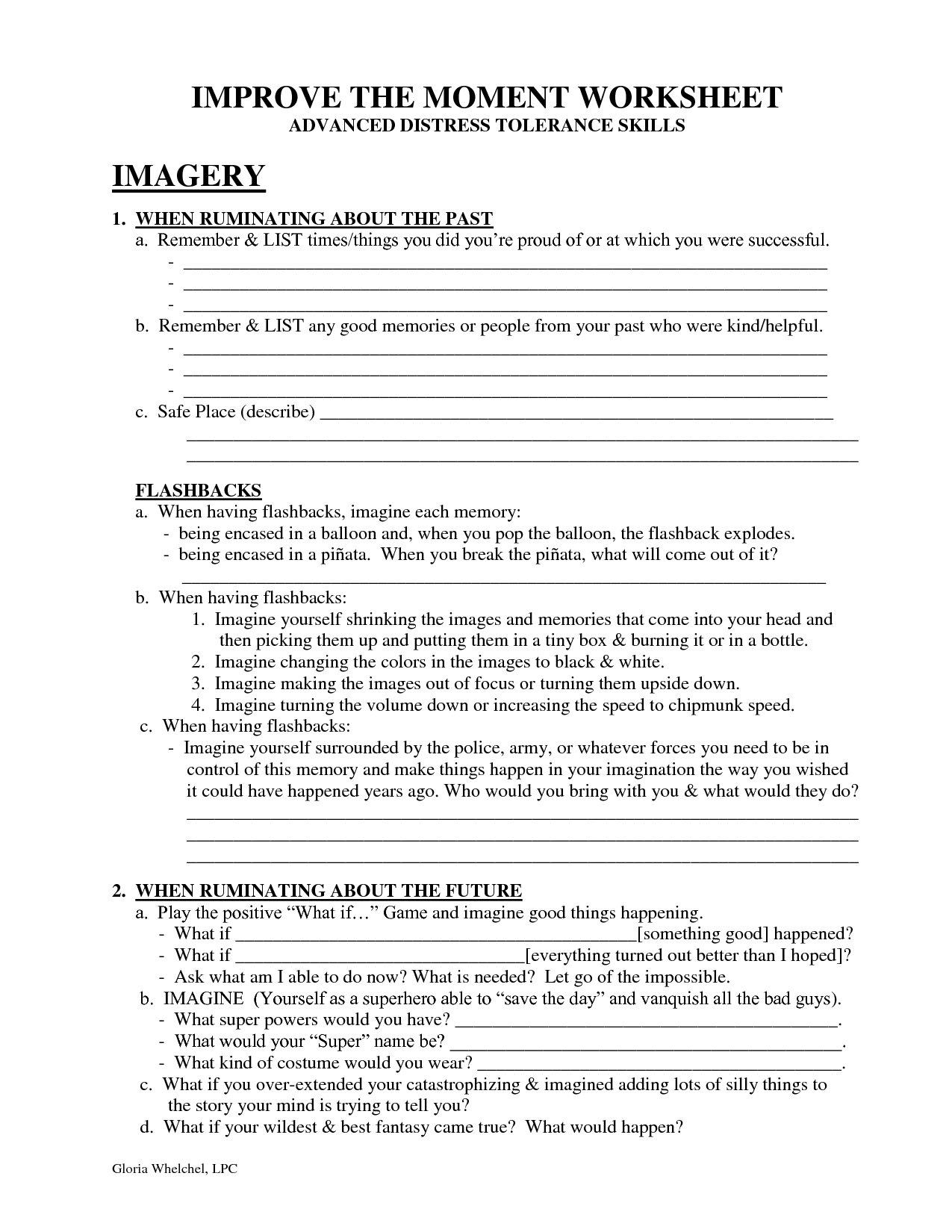 6 Best Dbt What Skills Worksheets Images On Best
