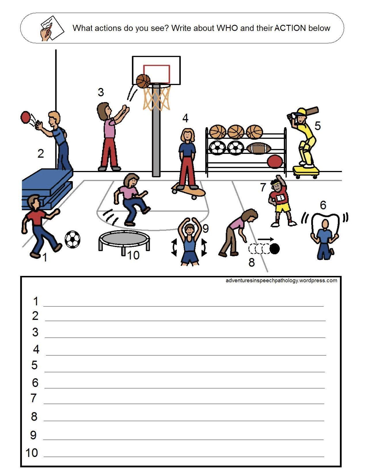11 Best Action Verbs Worksheets Images On Best Worksheets