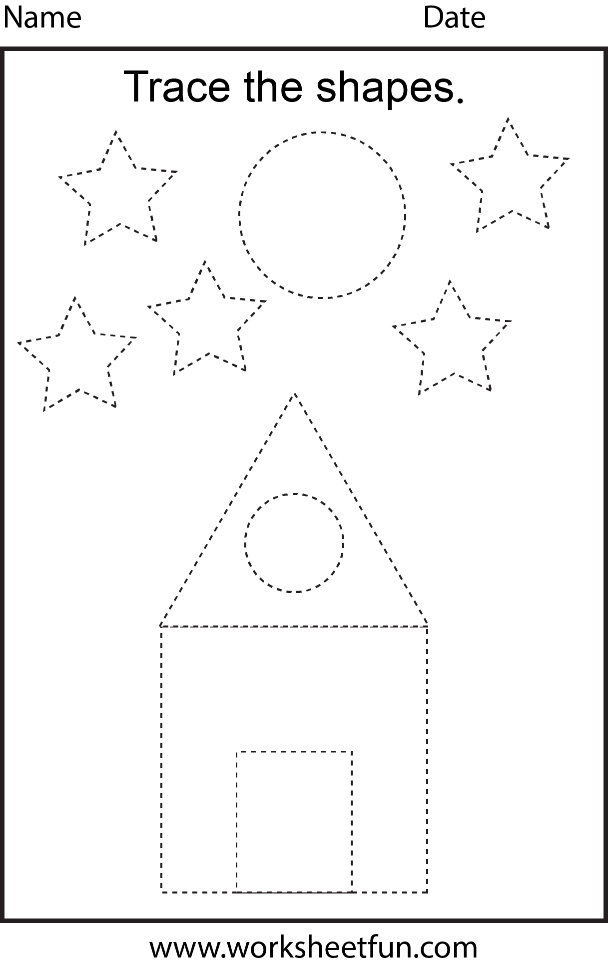 10 Best Geometry Worksheets Circle Blank Images On Best