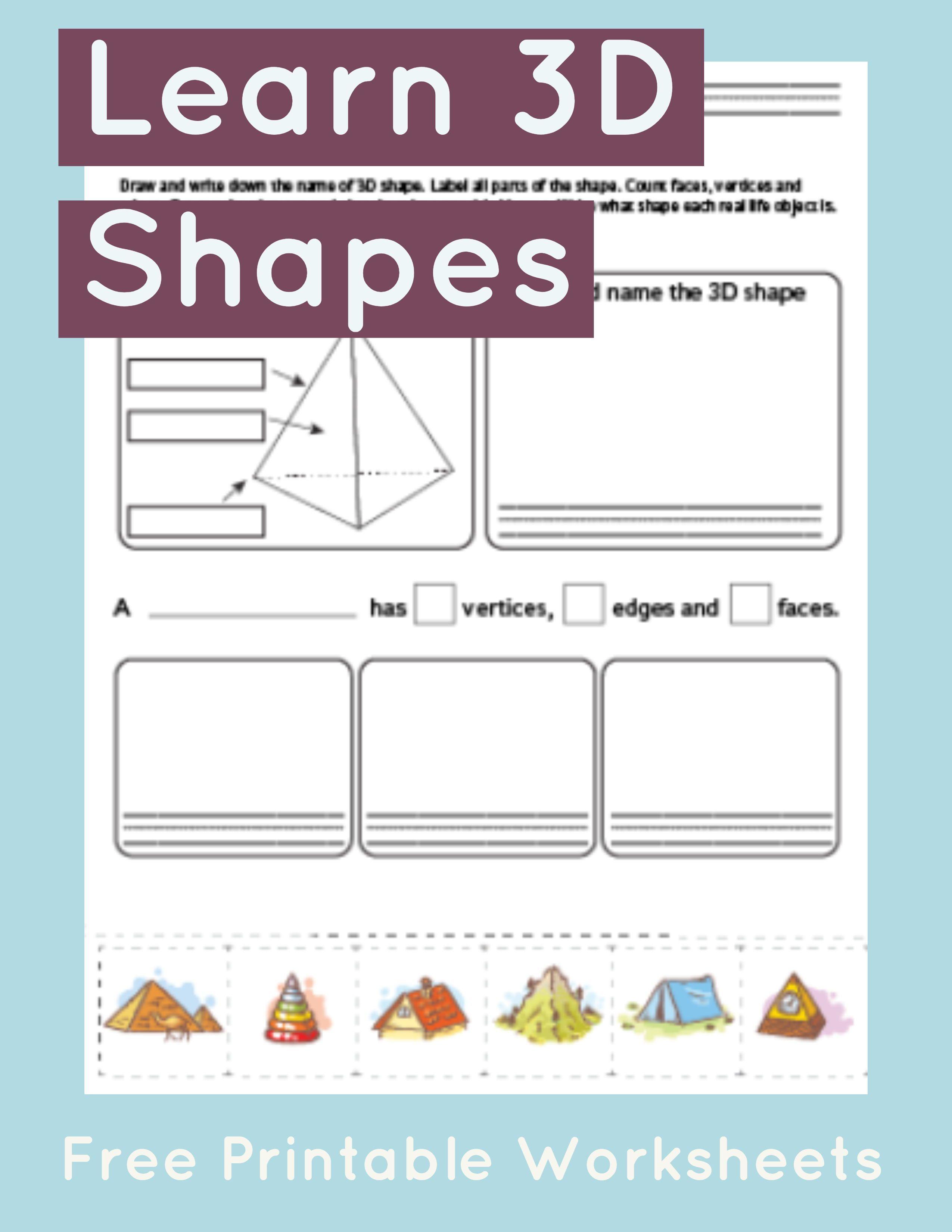 Worksheet On Shapes