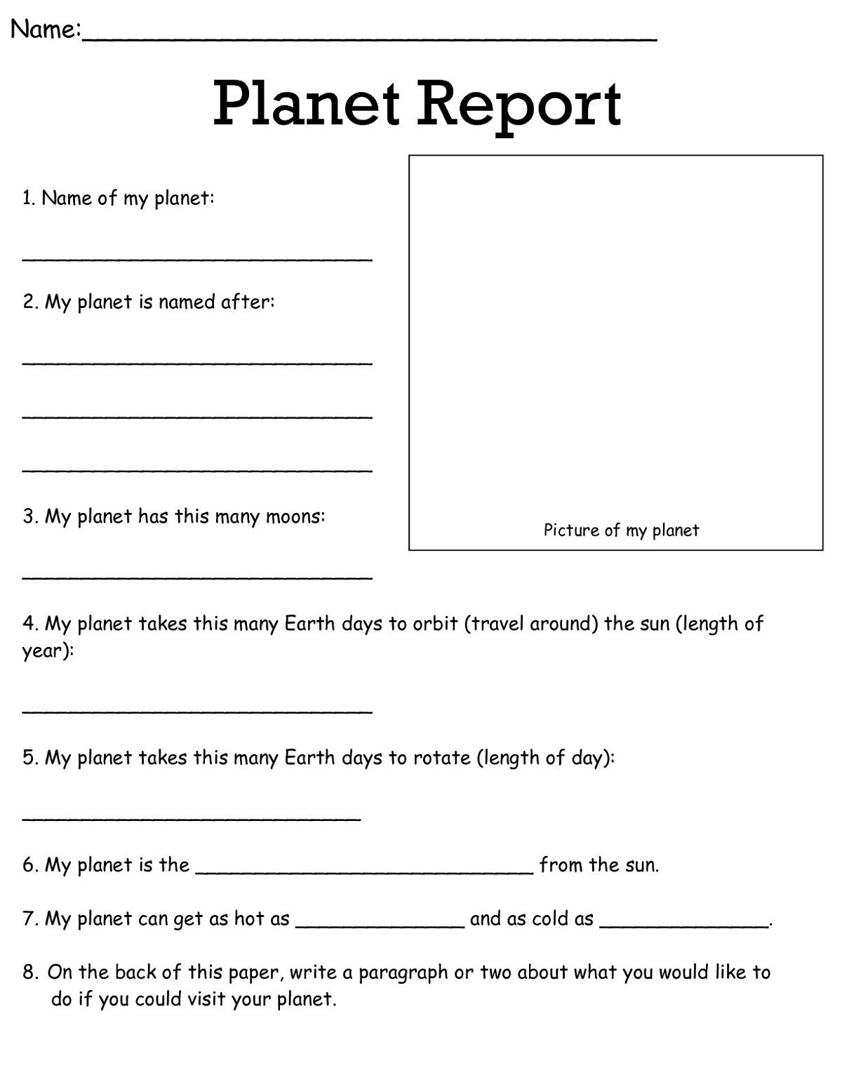 18 Best 3rd Grade Writing Worksheets Printable Images On