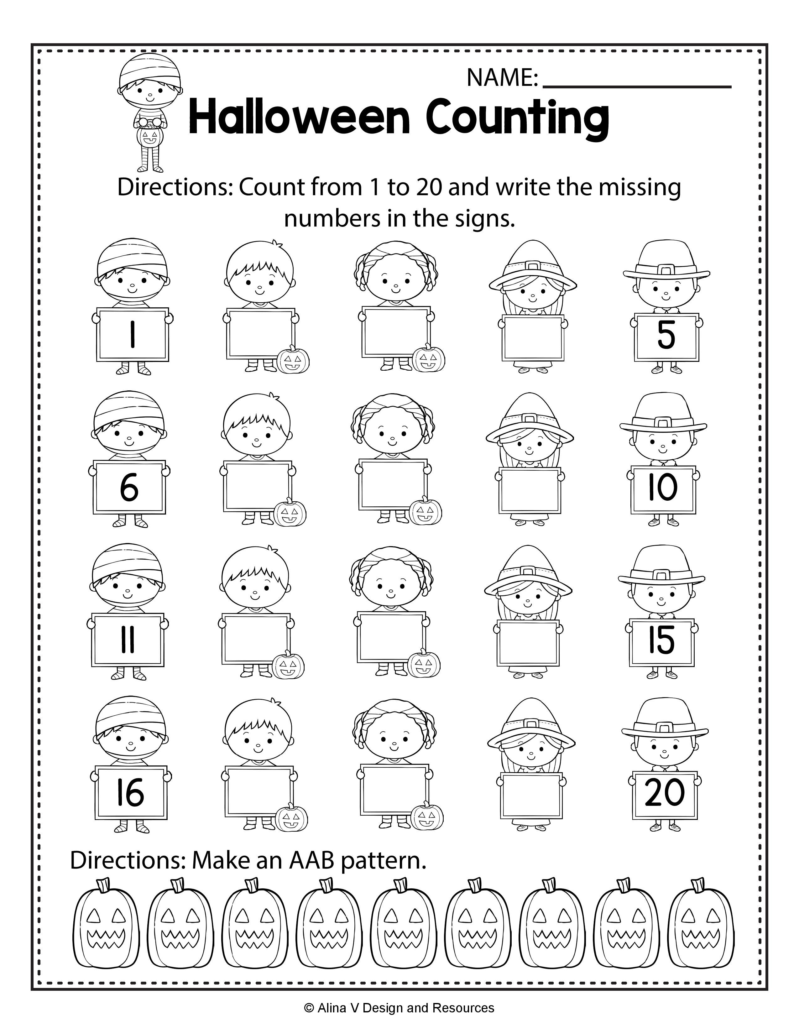 10 Best Halloween Tracing Words Worksheets Images On Best