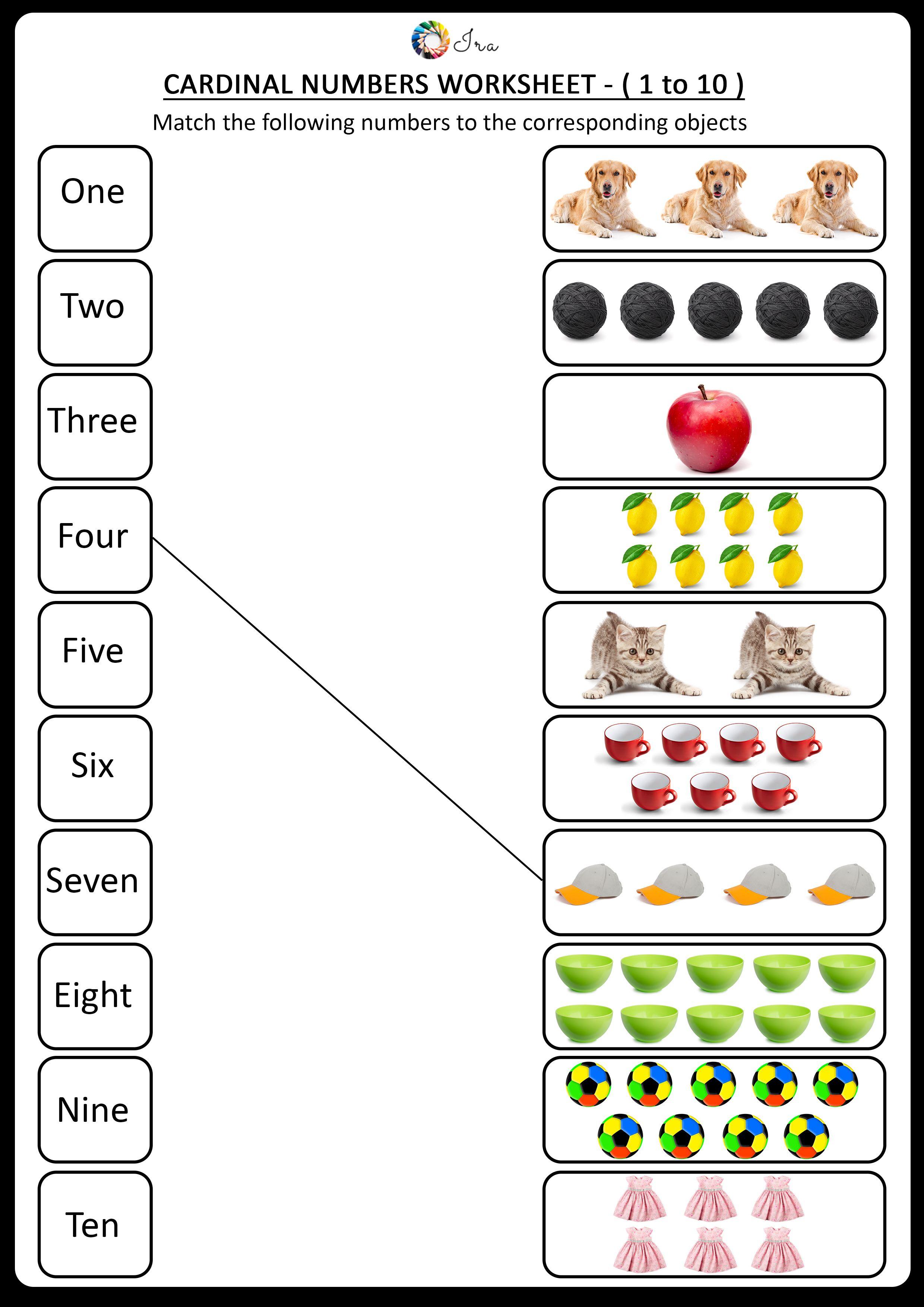 17 Best Ordinal Numbers Worksheets For Kindergarten Images