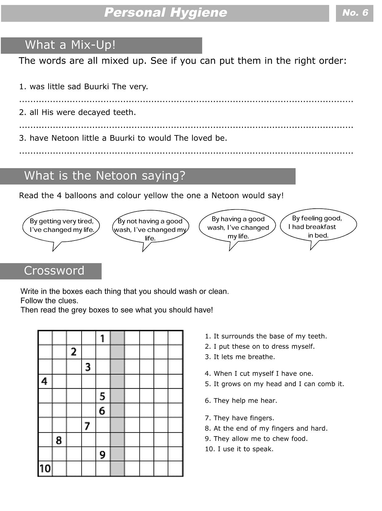 17 Best 6th Grade Health Worksheets Printable Images On
