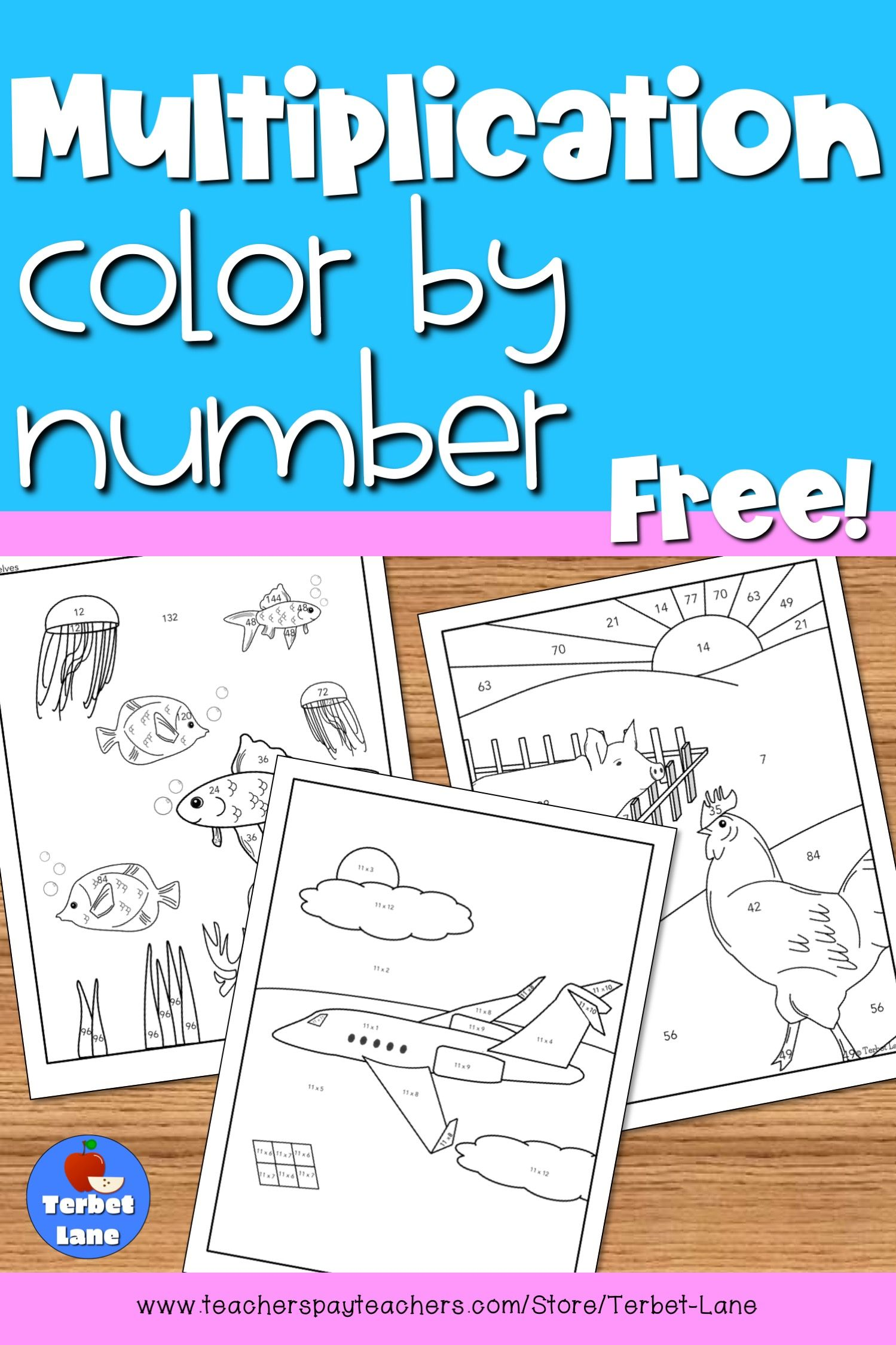 Free 4th Grade Math Worksheets Multiplication 3 Digits By