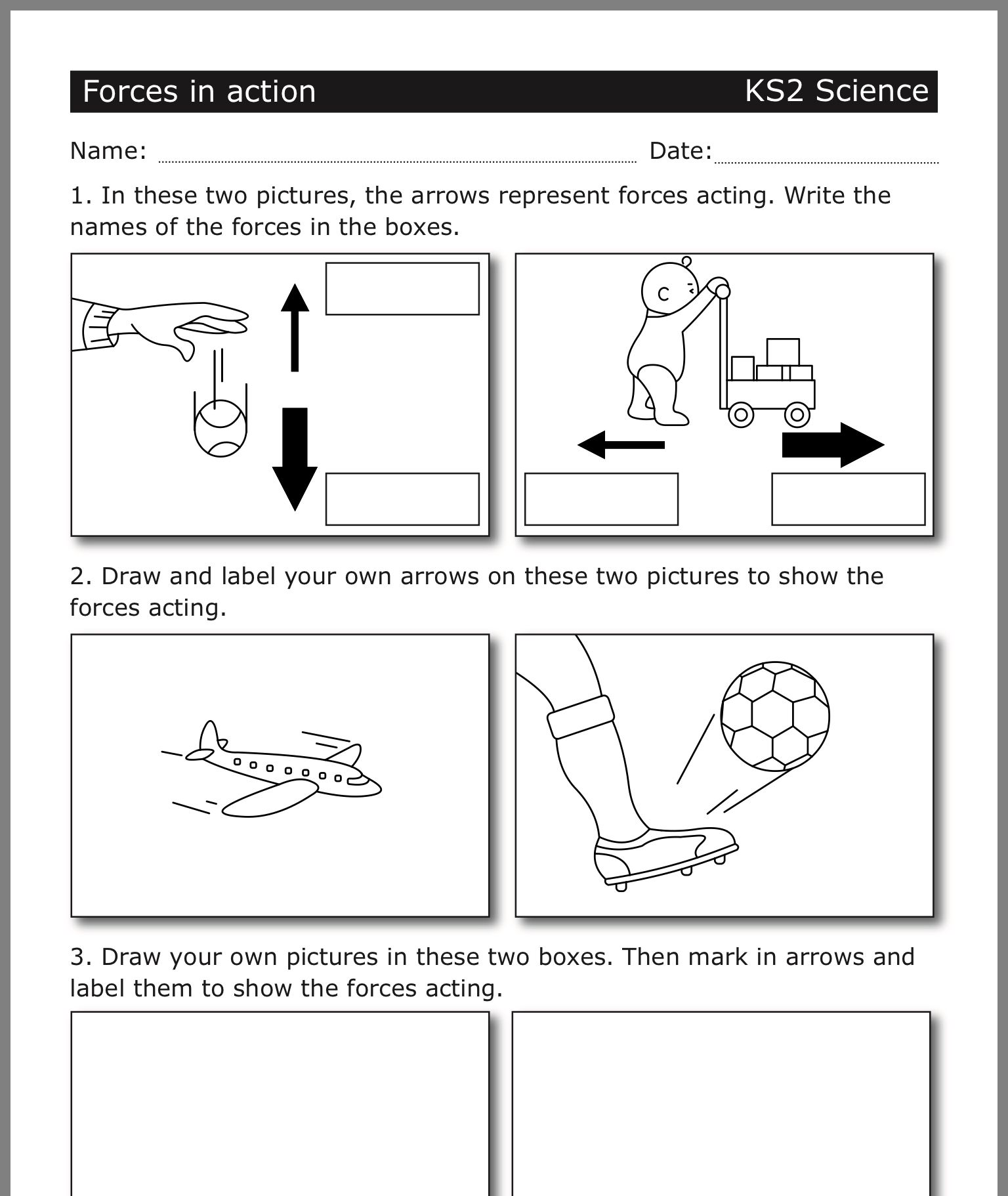 16 Best 4th Grade Science Worksheets Printable Images On
