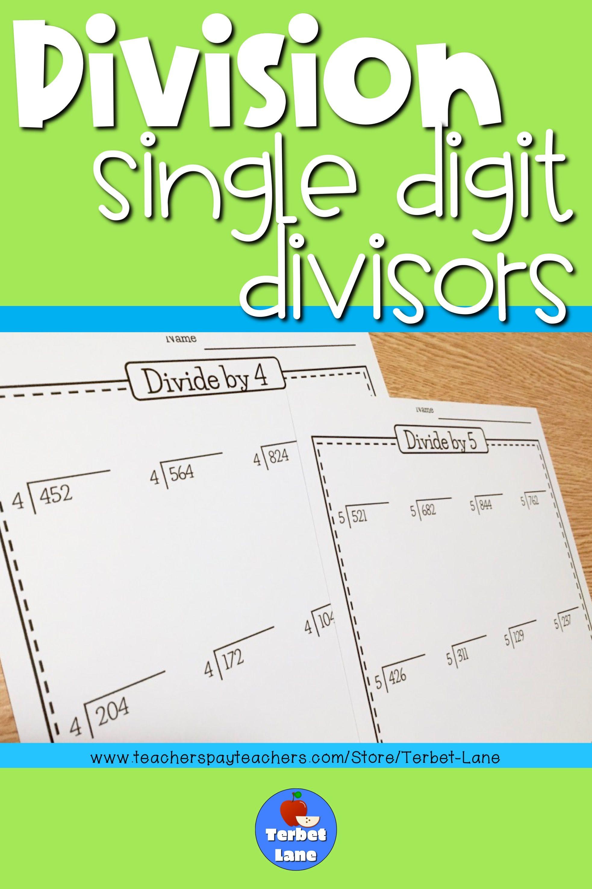 15 Best 3 Digit Division Worksheets Images On Best