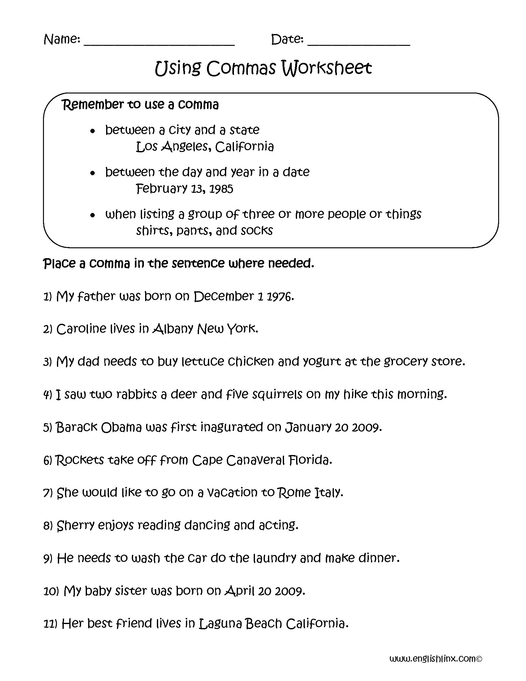 Understanding Adjectives Worksheets