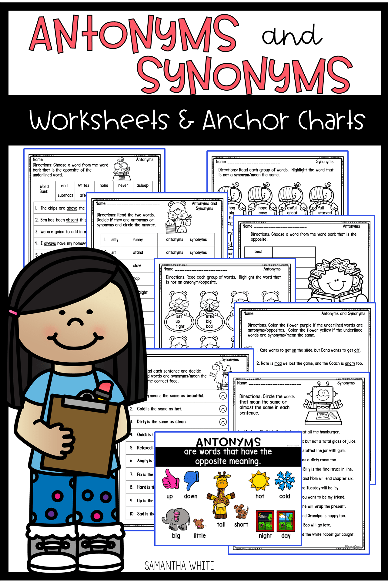 13 Best Synonyms Worksheets Images On Best Worksheets