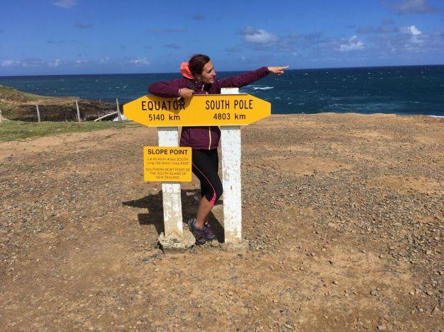 Nový Zéland: Na nejjižnějším bodě ve Slope Pointu