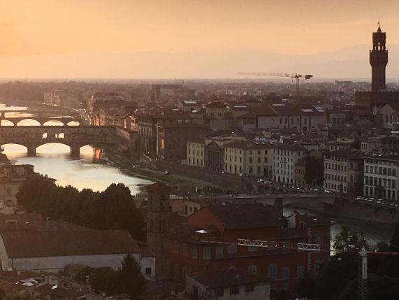 co navštívit ve Florencii - řeka Arno