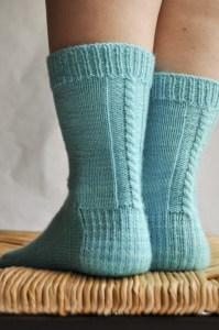 les chaussettes de la schtroumpfette