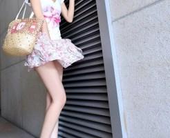 美脚のモデル
