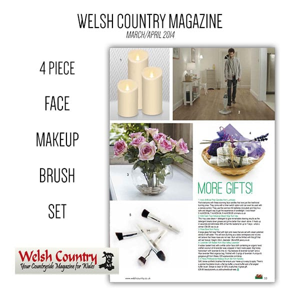 NANSHY IN welsh country magazine