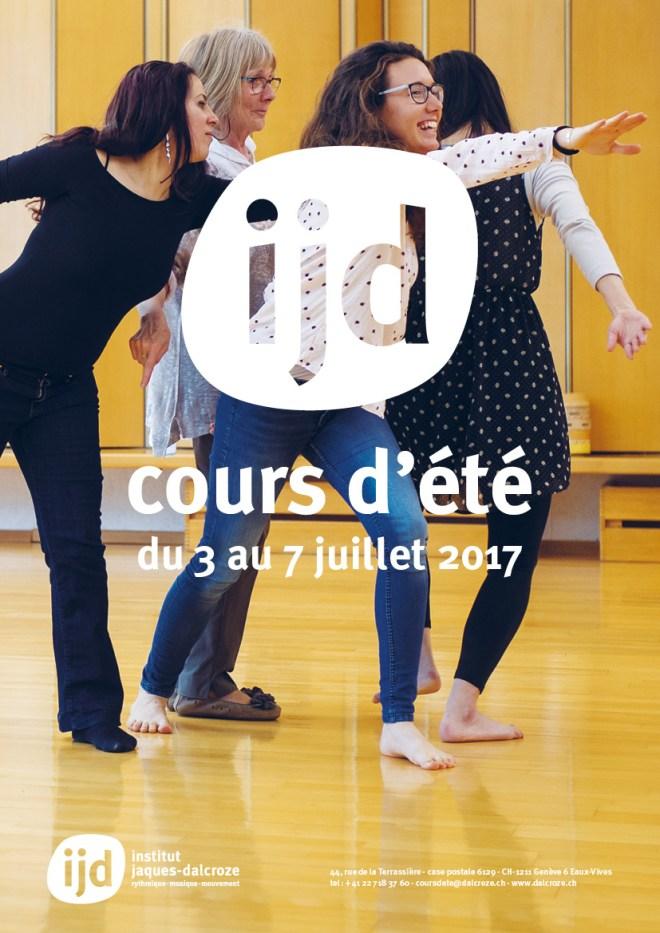 cours d'été Genève 2017