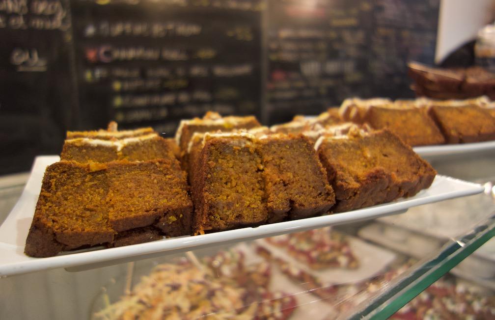 gâteau au potimarron façon carrot cake