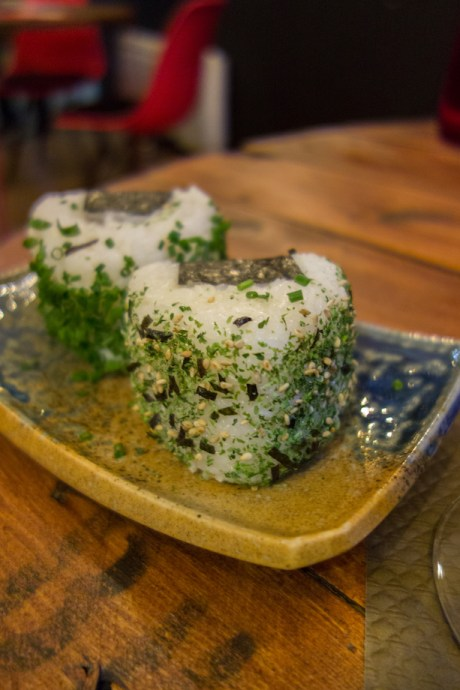 onigiris aux algues