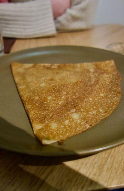 crepe de froment beurre sucre cannelle