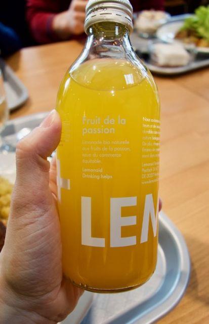 limonade bio aux fruits de la passion
