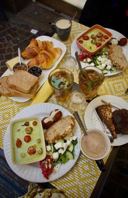 brunch estival du salon de thé dînette à nantes