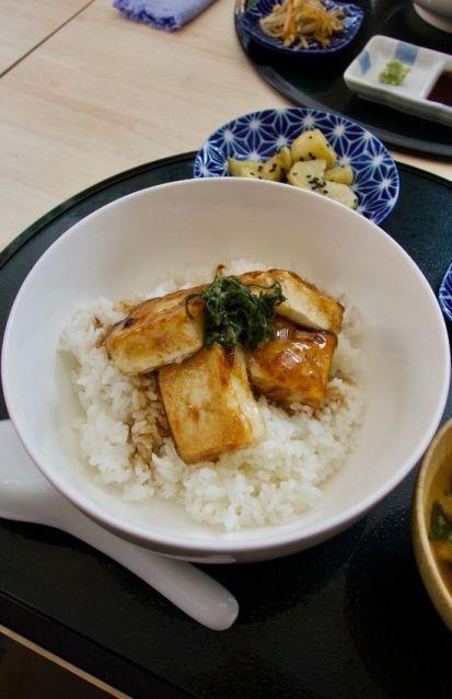 agedashi tofu chez ko iki à la baule