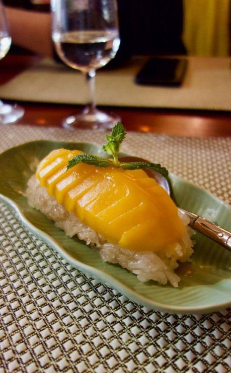 dessert laotien au restaurant vanola à nantes