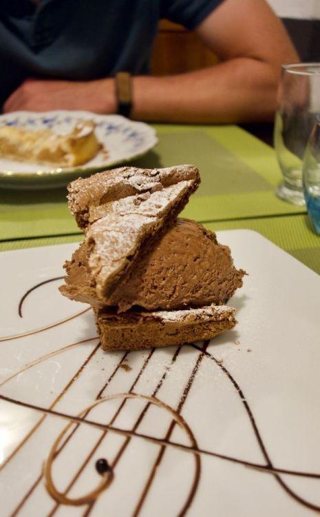 truffon chocolat noir et sa mousse