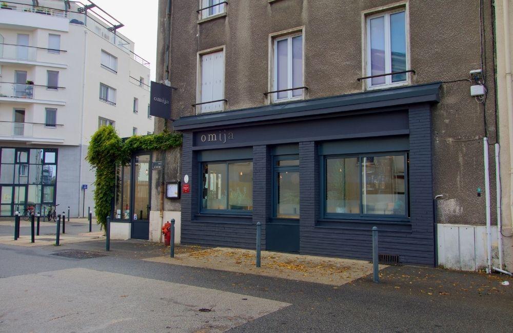 façade du restaurant omija