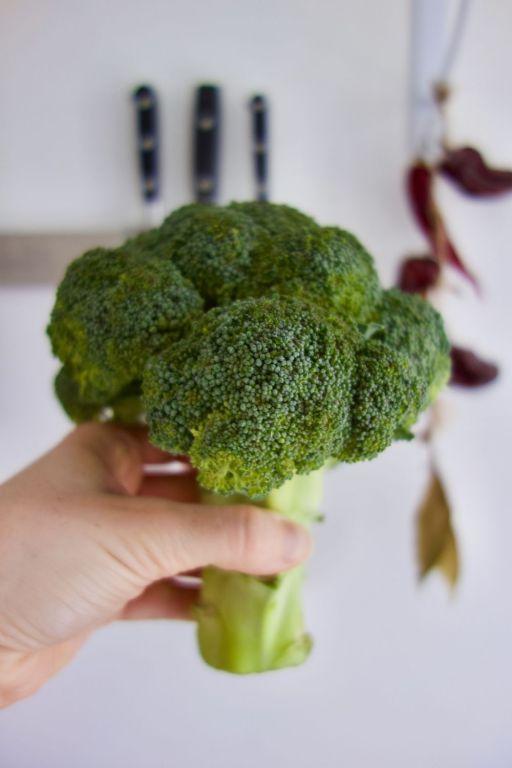 tête de brocolis