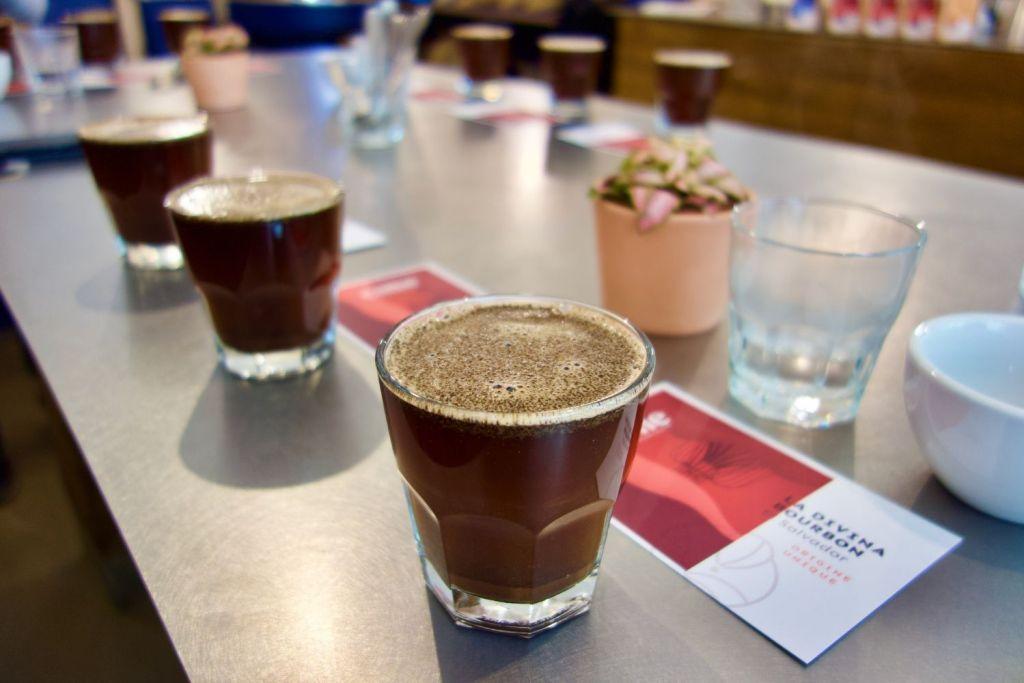 dégustation de café de spécialité chez CIME