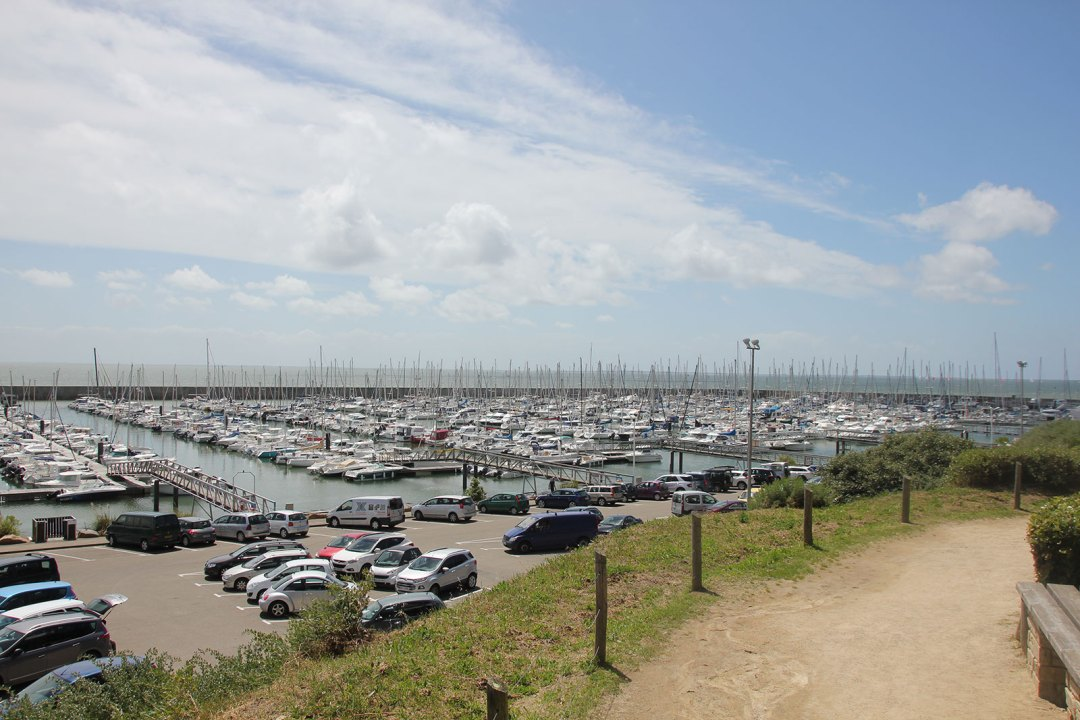 Pleasure boats in the harbour