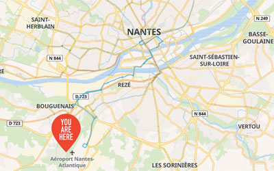 Getting from the Airport to Nantes