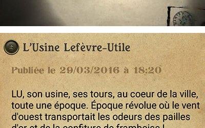 The Nantes à la Carte – Mobile Phone App