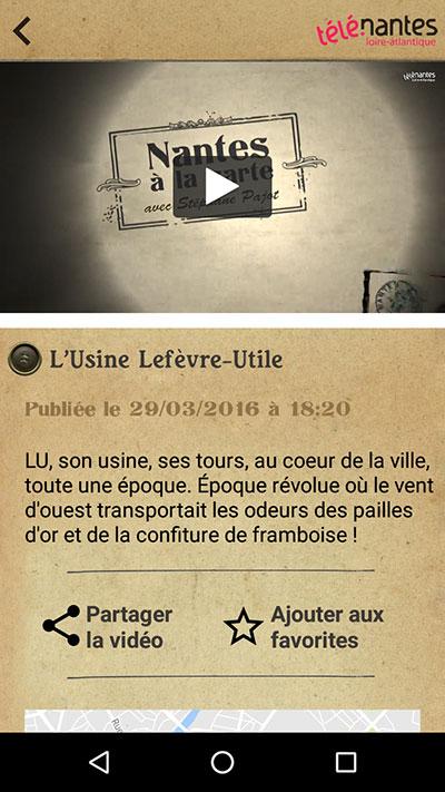 Nantes À La Carte - LU