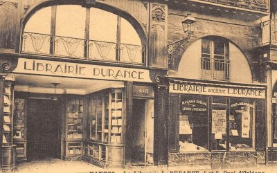 Day 19: Buying books locally at the Librairie Durance