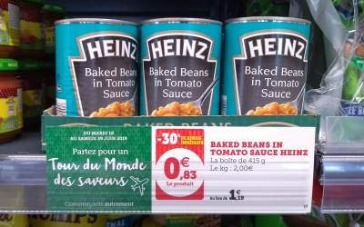 Breaking News Heinz Baked Beans for less than a euro!!!