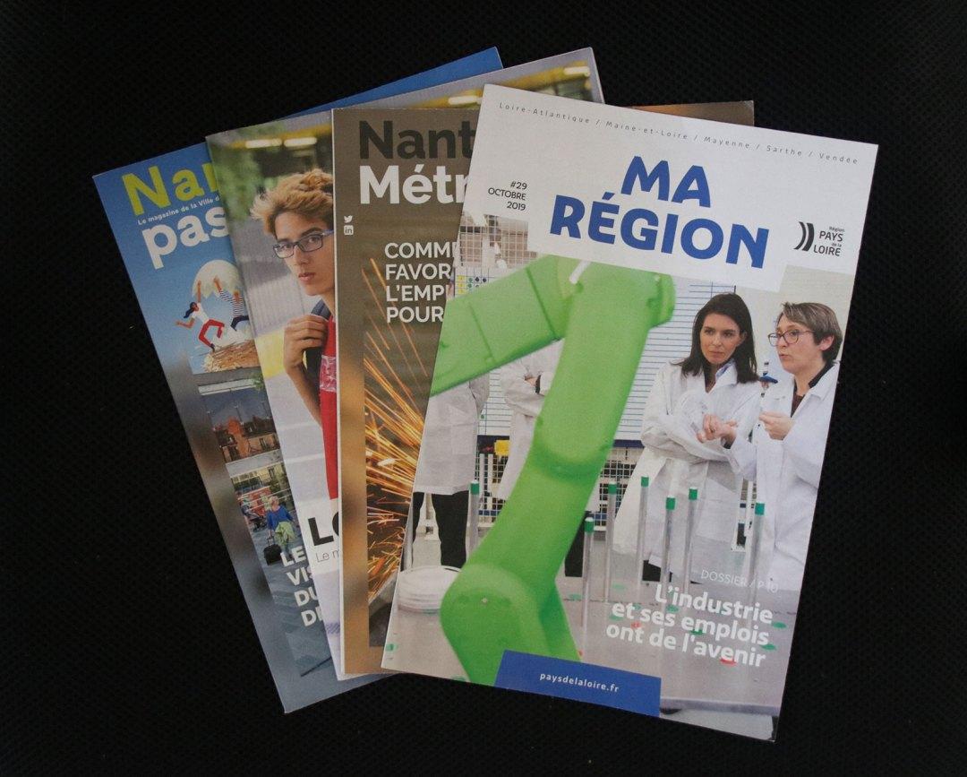 Magazines from Ma Region