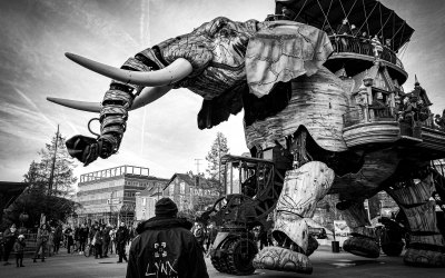 A Trip on the Elephant in Nantes