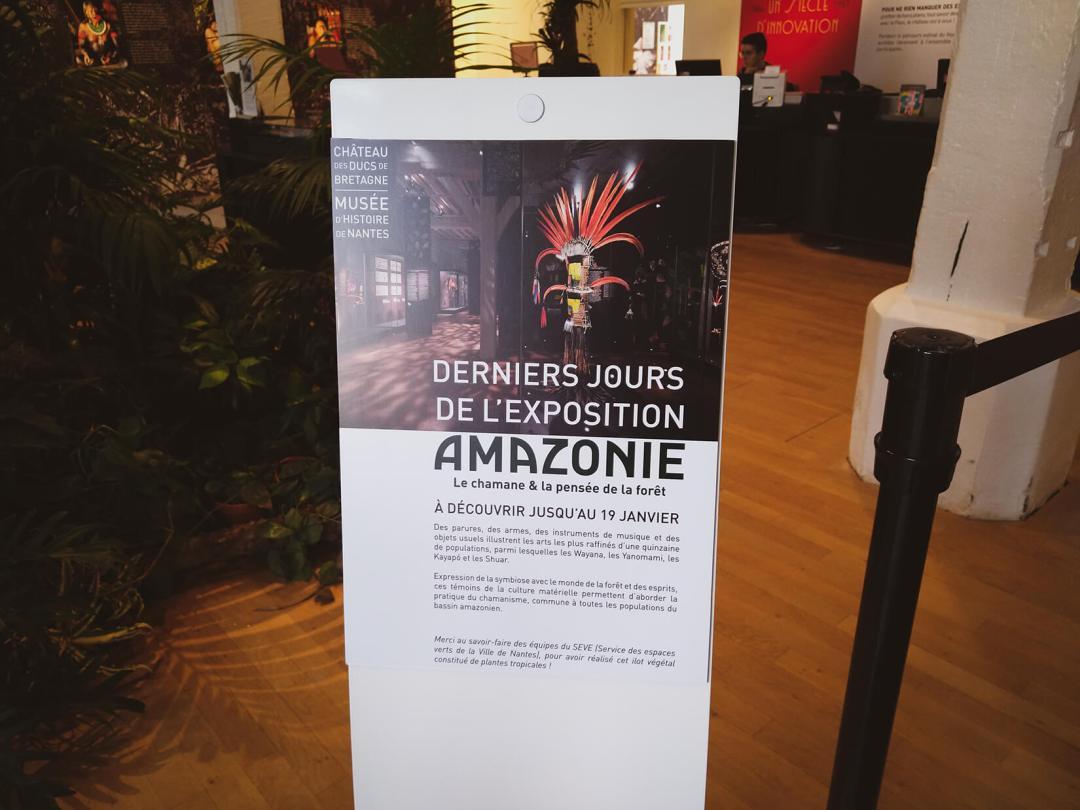 Last Days Of The Amazonie Exhibit