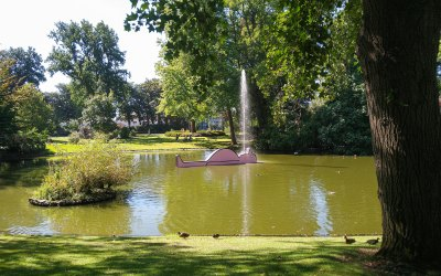 The new installations at the Jardin Des Plantes