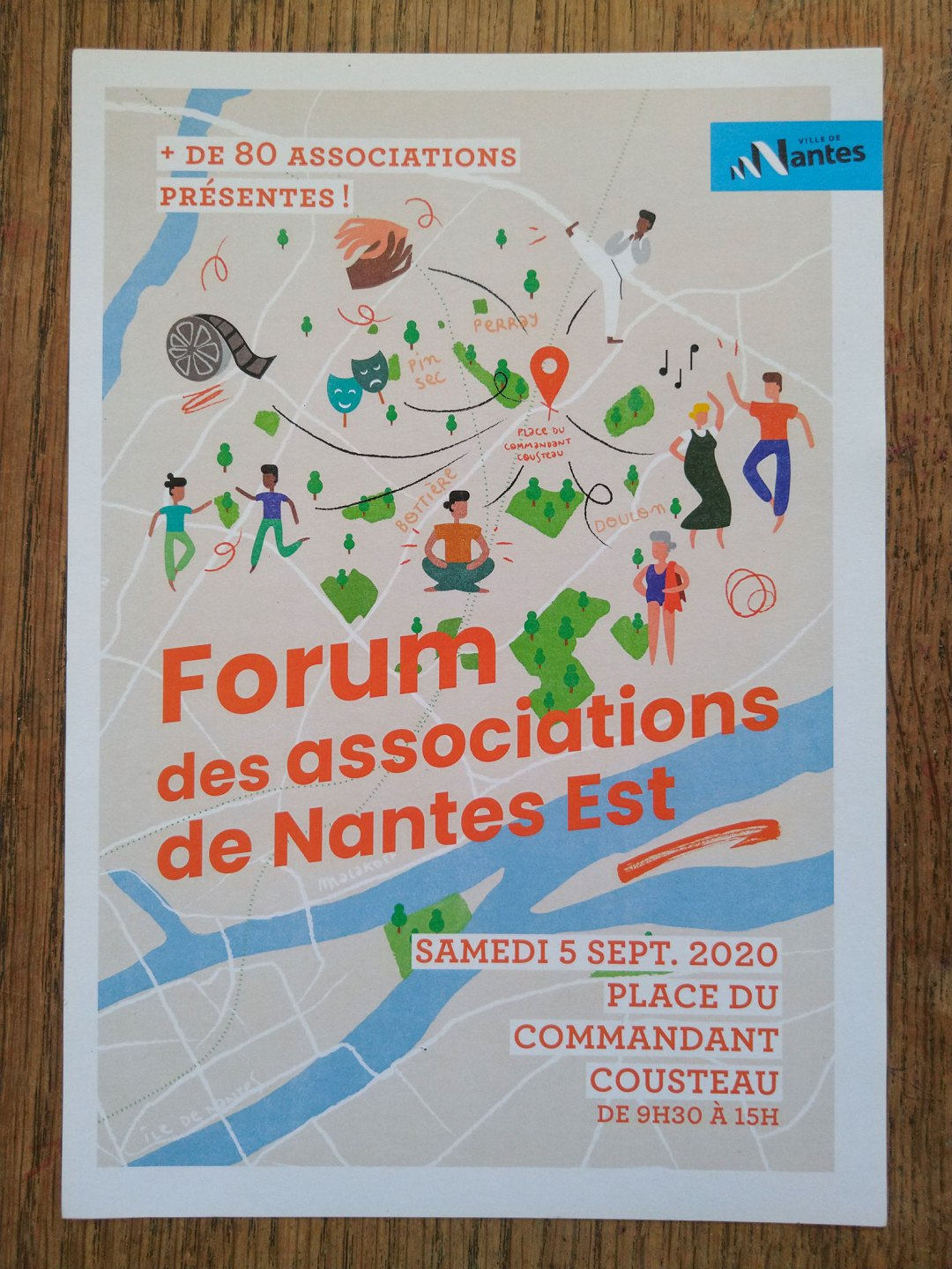 Forum Des Associations De Nantes Est Front