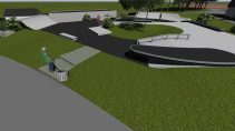 Nouveau Skatepark Carquefou by ORS Conception NantesSB